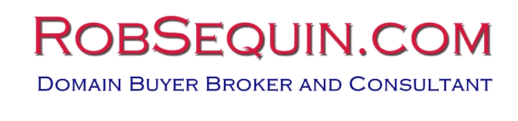 domain buyer broker and consultant - rob sequin
